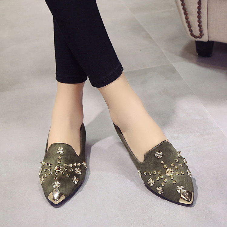 2017 new fashion trend Women shinning Flat Shoes Slip On Shoes Women Shallow Mouth Flat Shoes Women Matte sequins flat shoes618 e hot sale wholesale 2015 new women fashion leopard flat shallow mouth shoes lady round toe shoes