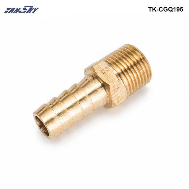 Brass quot npt hose barb fitting for bmw vw audi
