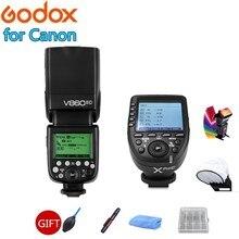 Godox V860II-C V860ii V860IIC Speedlite Flash mit High Power Lithium-Batterie GN60 TTL HSS + Xpro-C Löst Für canon Kameras