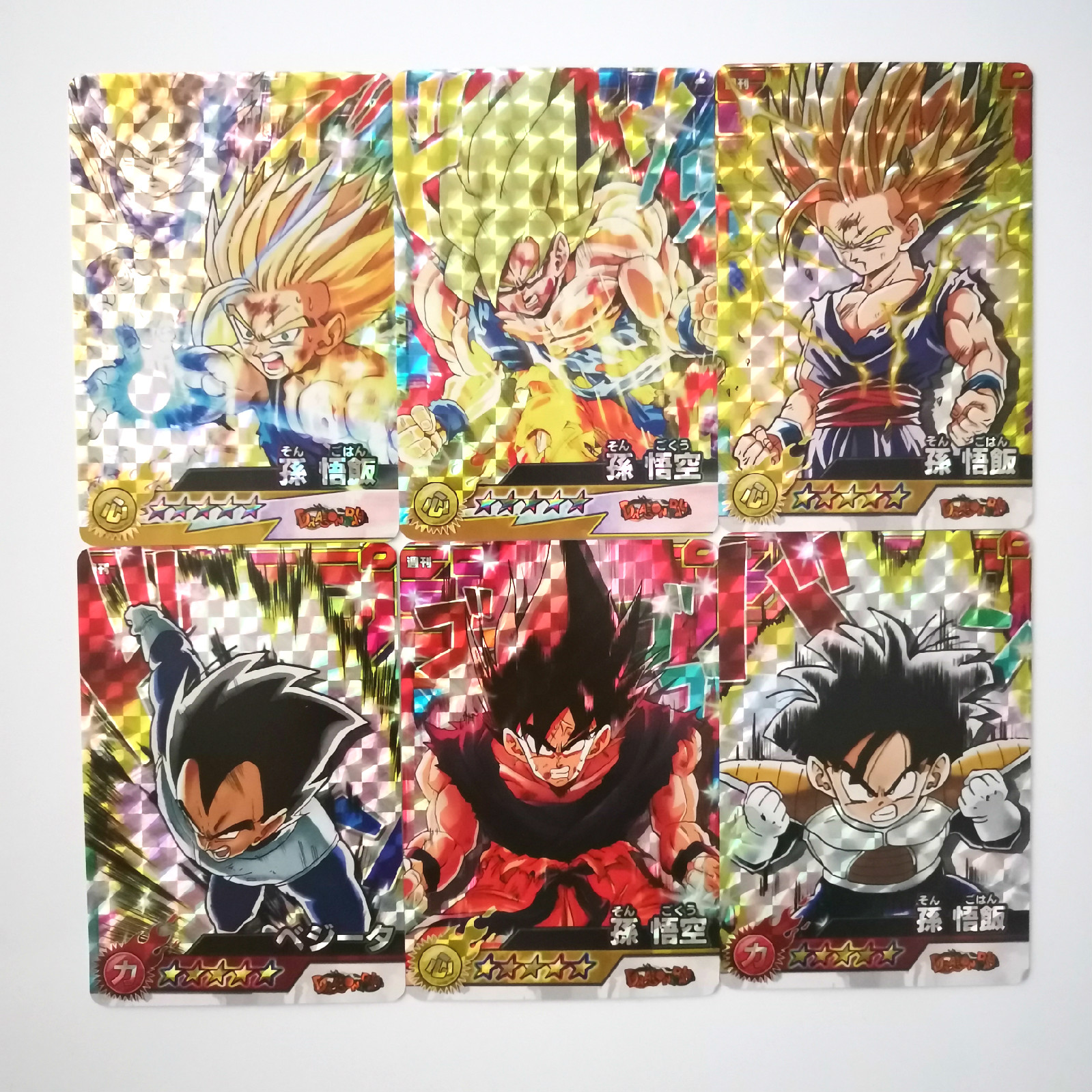 54pcs/set Dragon Ball Jump Force Animation Second Bomb Toys Hobbies Hobby Collectibles Game Collection Anime Cards