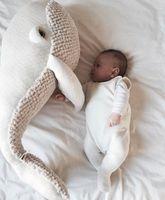 Big Cute Animals Dolphin Octopus Cushion Pillow Stuffed Plush Dolls Calm Sleep Toys Nordic Style Kids Photo Props Bed Room Decor
