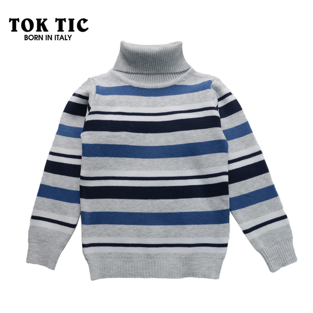 5d7b1bc43efd Autumn winter Kids boy sweaters turtleneck pullovers boy casual ...