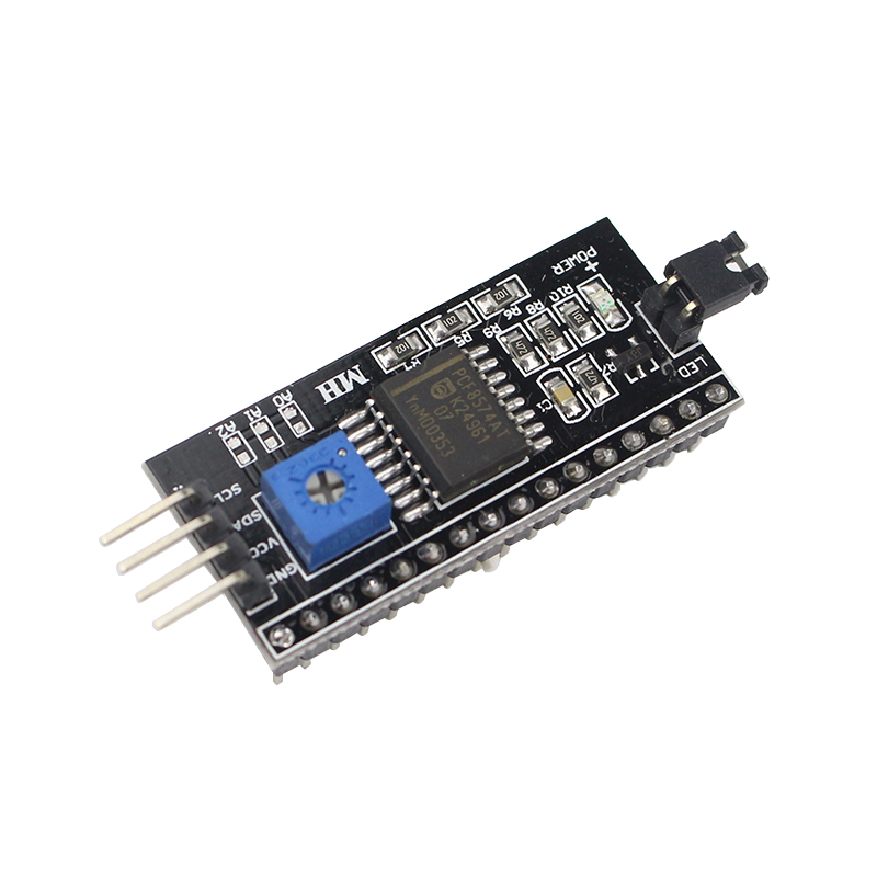 High Quality 1602 2004 LCD Adapter Plate IIC I2C / Interface Adapter Module Compatible For 1602 LCD For DIY