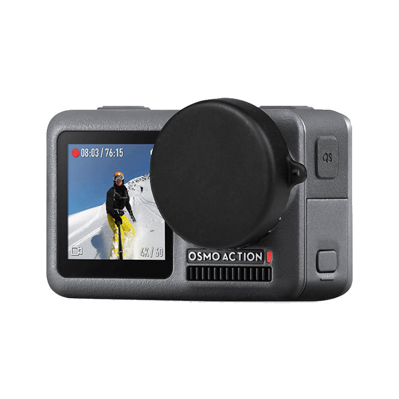 ShIngKa FLW310 Lens Protective Protector Cap for DJI OSMO Action Sports Camera Light Sports Action Video Cameras Accessories