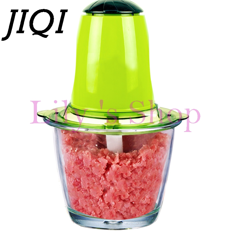 Kitchen small electric meat grinders household mini grinding machine cutter mincer fruit Vegetable Chopper juicer mixer EU plug lucog home cutting machine meat grinders kitchen mincing mincer with stainless blade manual cutter hand slicer for vegetable