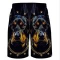 mens board shorts Summer Cotton Men's Shorts Casual Pants Fashion Beach Printed board shorts 2016 new