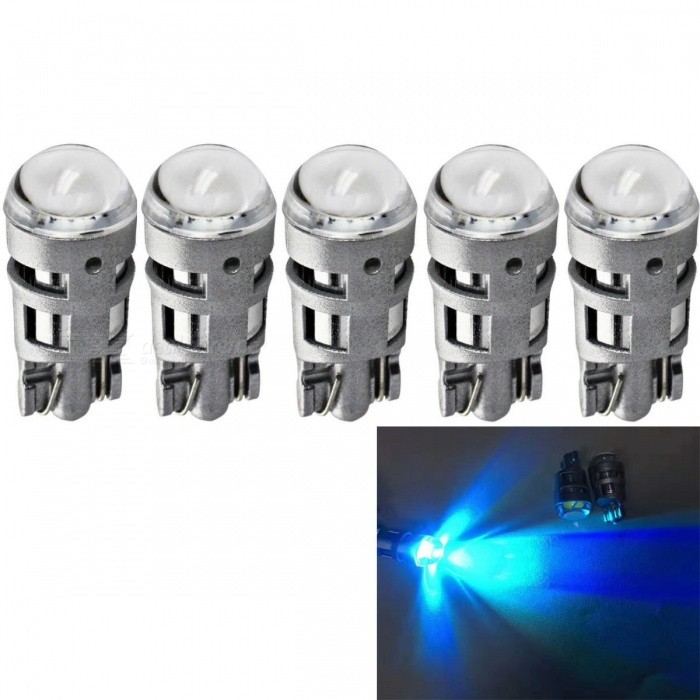5Pcs T10 12V W5W 2825 194 168 Cars From Canbus ice blue Light-Emitting Diodes 5730 Independent Led No Errors Univ era Auto Lamp
