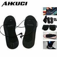 Factory Price Winter Warming Outdoor Mules Clogs Activitis Shoes Insoles USB Powered AA Battery Electric Heating
