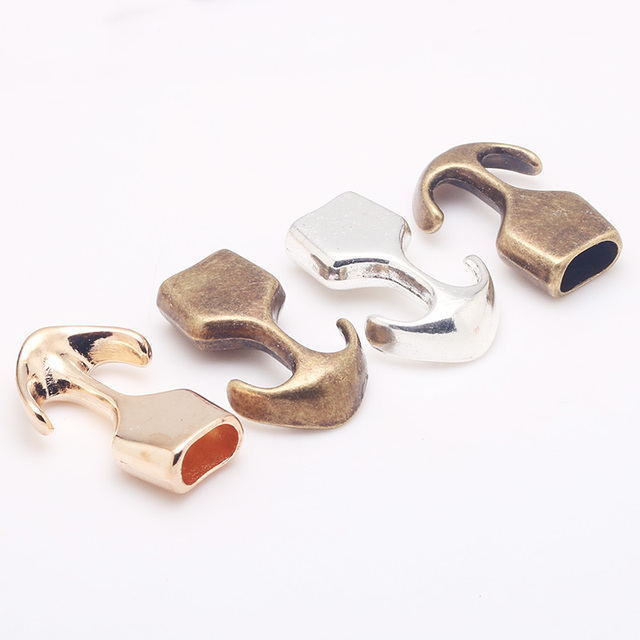 3 Color Metal Anchor Charms For Jewelry Making Diy Bracelets Handmade Craft