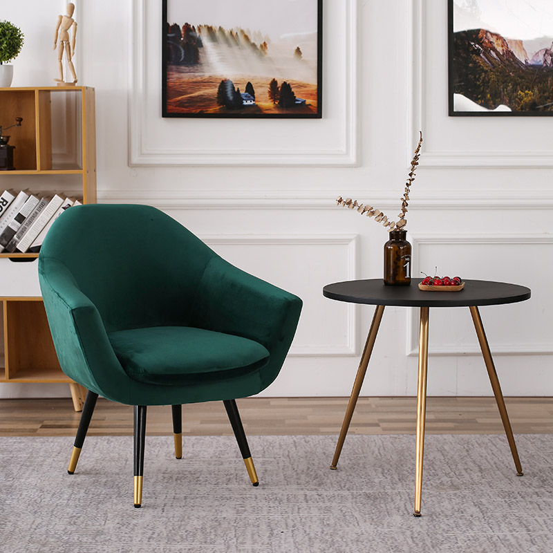 Modern Single Lounge Chair Cafe Office Restaurant Furniture Bedroom Study Nordic Minimalist Chair Sofa