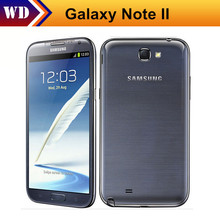 N7100 Note 2 Original Samsung Galaxy Note II 5.5'' Touch Screen cellphones 8MP camera GPS Android  Refurbished