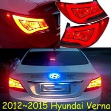Бампер лампа для Verna задний светильник, 2011~, автомобильные аксессуары, светодиодный, solaris, verna задний светильник, verna противотуманный светильник; Tucson, Santa Fe, verna