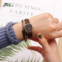Square Watches Women Wrist Watch Ladies Small Retro Quartz Wristwatches For Woman Clock Female Hours Hodinky Relog Montre Femme