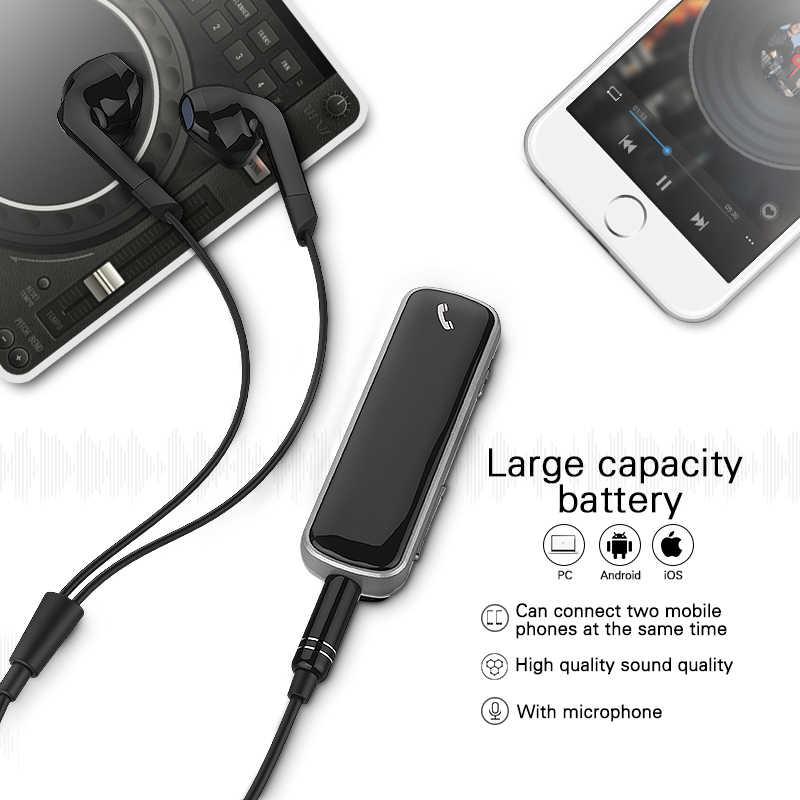 Langsdom BX6A Mini przenośny bezprzewodowy zestaw słuchawkowy Bluetooth słuchawki zacisk słuchawki Bluetooth bezprzewodowy/a słuchawki fone de ouvido
