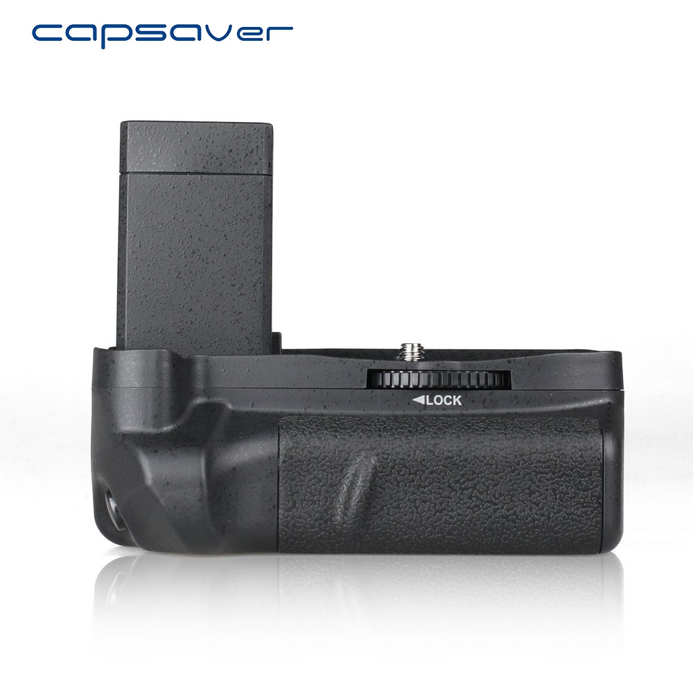 capsaver Vertical Battery Grip for Canon 1100D 1200D 1300D Rebel T3 T5 T6 EOS Kiss X50 Camera Battery Holder Work with LP-E10