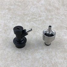 Stainless Steel Carbonation Cap Carbonator & Liquid Ball Lock Disconnect fit soft drink PET bottles Homebrew Soda