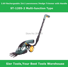 Buy ST1205-2 /3.6V Rechargeable 2in1 Lawn Mower/ Grass Cutter/Sier electric lawnmower