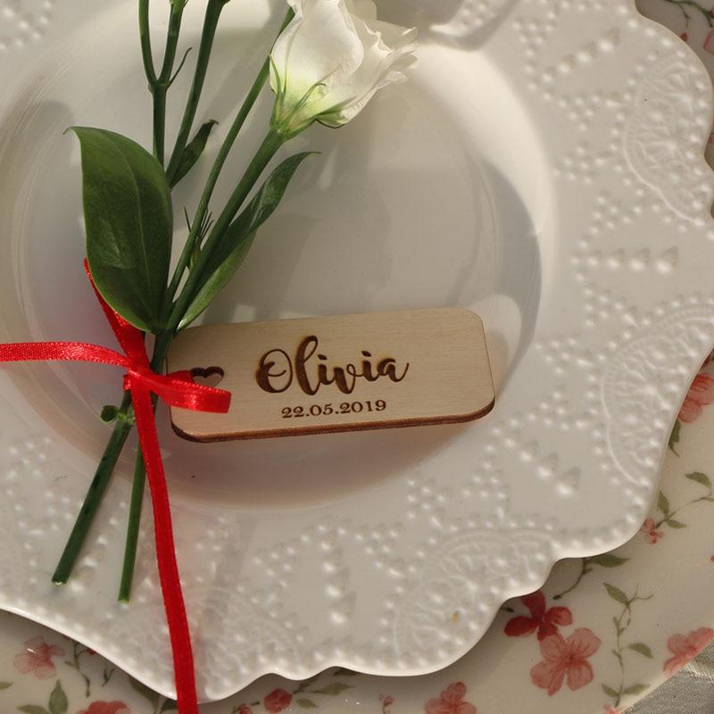 29 Laser cut custom wedding place nameCustom wood wedding signsWooden place cards WEDDING table decorLaser cut namesTAGS for wedding