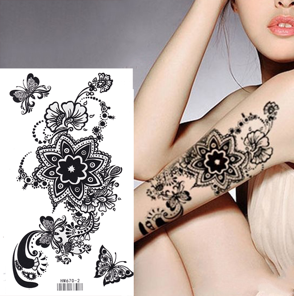 Temporary tattoo - beauty without harm to health 52