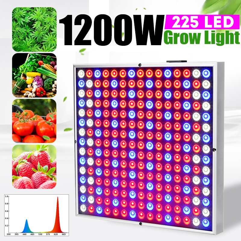 LED à spectre complet élèvent la lumière 1200 W AC85-265V plein spectre plante éclairage Fitolampy pour les plantes fleurs culture de semis