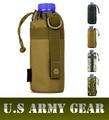 Garrafa de Água do Sistema MOLLE D-anel Titular cordão bolsa pequena bolsa, Attack Safari Do Exército Das Mulheres Dos Homens de Viagem Durável EUA Equipamentos