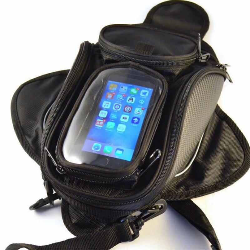 Oxford tissu étanche moto moto réservoir sac moto magnétique réservoir sac moto bagages sacs livraison gratuite