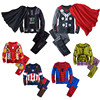 Spiderman Children Boys Clothing Set Baby Boy Ironman Captain America Sport Suits 3 8 Year Kids