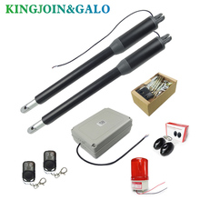Swing-Gate-Opener Linear-Actuators Automatic Motor 4-Remote-Controls 300kg with Antifreeze-Oil