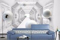abstract Wall Photo For Bedroom Building Backdrop Wallpaper Ball 3D Photo Wallpaper Custom Kids Room