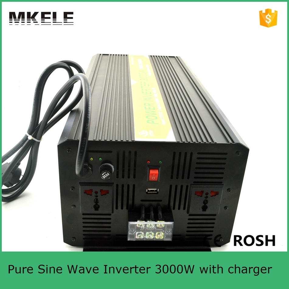 Mkp3000 481b C 3000 Watt Power Inverter Circuit 48vdc To 120vac Pure Sine Wave 3000w Charger With Universal Socket In Inverters Converters From