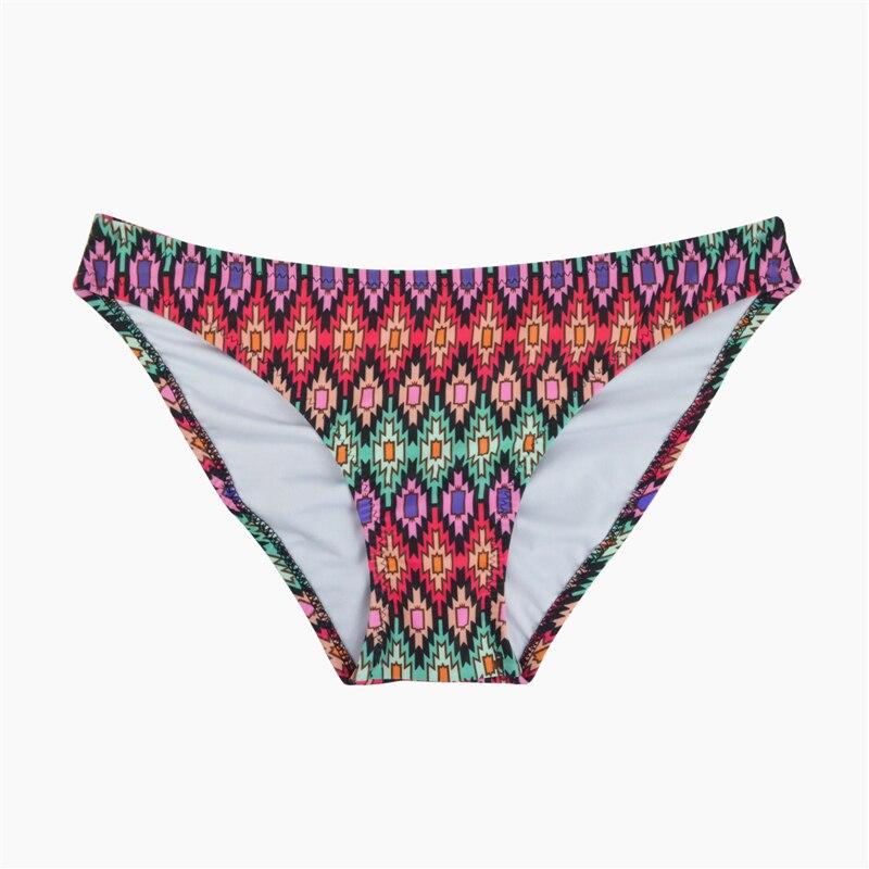 M& M/ г. пикантные женские плавки-бикини с низкой талией ярких цветов с принтом дерзкие маленькие плавки спортивные шорты B602 - Цвет: B602P