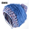 2017 new style hats for women beanie hat gril beanies wool knitted caps  women winter wool cap girl warm bonnet balaclava gorro