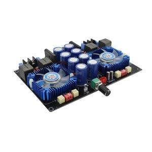 Image 4 - Lusya Dual core TDA8954TH Digital audio Amplifier 420W+420W 2.0 stereo Power amplificador audio With fan AC24V B8 005
