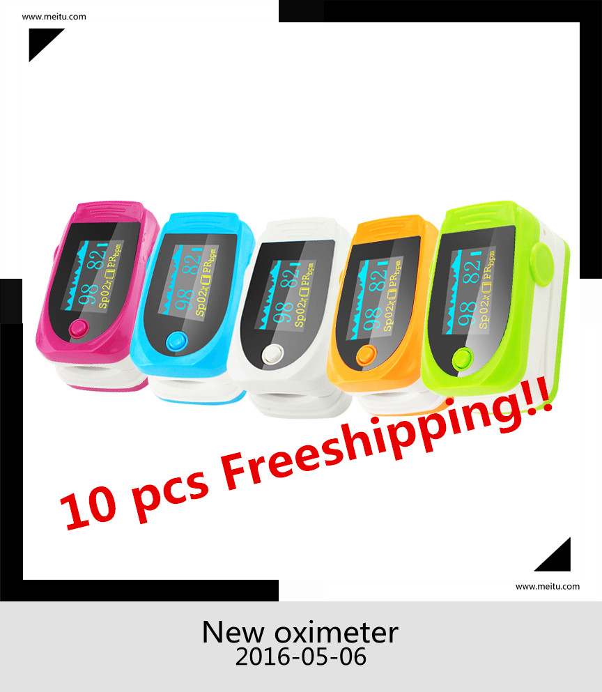 2017 10pcs OLED Display Pulsioximetro Fingertip Pulse Oximeter  Blood Pressure Monitor Saturation Meter Pulse Oximeters pc 60nw oximetro de dedo pulse oximeter blood saturometro monitor spo2 pr oximetro de pulso portable pulsioximetro