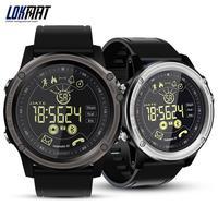 For LOKMAT MK26 Men's Sports Smart Watch 5ATM Waterproof Bluetooth Pedometer Message Reminder Digital Clock Smart Watch