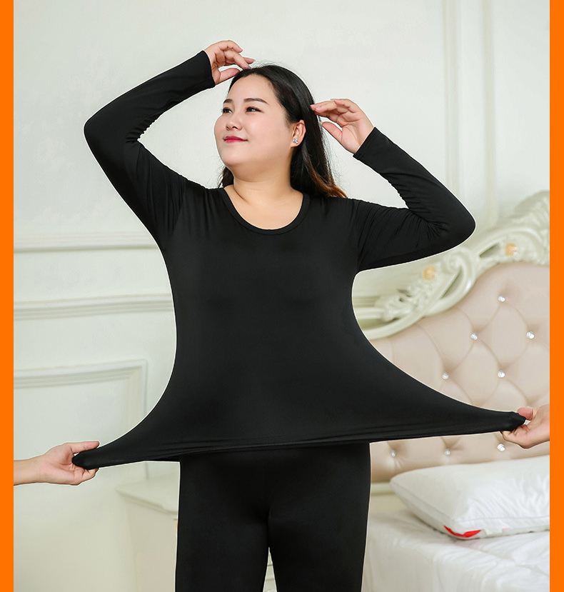 Jerrinut Thermal Underwear Women Plus Size 6XL Winter Clothing Suit Long Johns Women For Winter Thermal Underwear Winter Female 8