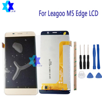 For Leagoo M5 Edge LCD Display Touch Screen Panel Digital Replacement Parts Assembly Original 5 0