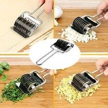 Spaetzle производители лапши решетки ролик из нержавеющей стали Руководство Паста тесто резак машина прессования Кухонные гаджеты