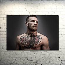 Heißer Conor McGregor Irish UFC Federgewicht Champion Tattoo Silk Oder Leinwand Poster 13x20 24x36 zoll Bild für-013