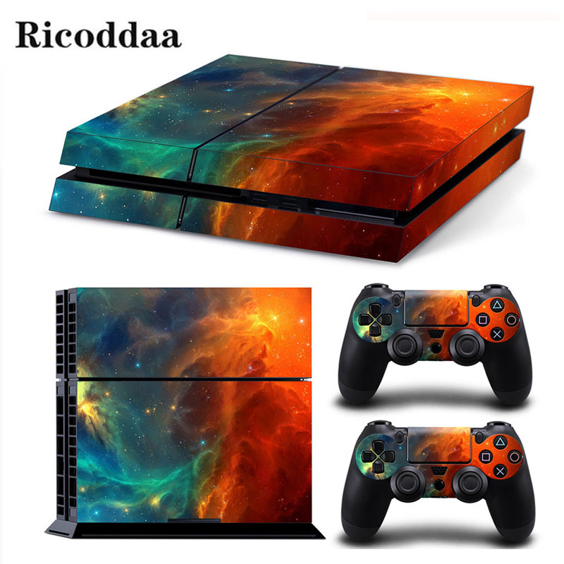 Camouflage Game Stickers For PS4 Stickers Console Skin PS4 Controller Skins Cover For PlayStation4 Game Accessories