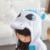 Invierno Pijamas Niños de Dibujos Animados de manga Larga Caliente Unicornio Cosplay Animal Onesie Franela Niños Niñas Ropa de Dormir Pijamas