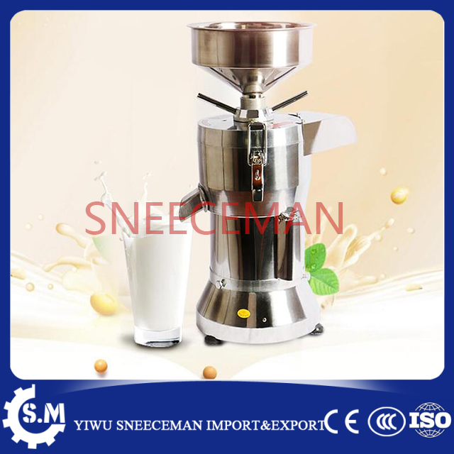stainless steel automatic slag separating 50kg/h soybean milk tofu maker machine commercial soybean milk grinder machine free shipping all steel soybean milk machine automatic multi function special offer quality goods