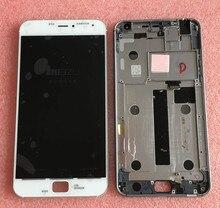 Испытано ЖК-экран + Сенсорный Дигитайзер с рамкой Для 5.5 «meizu pro 4 mx4 pro белый или черный фрер доставка