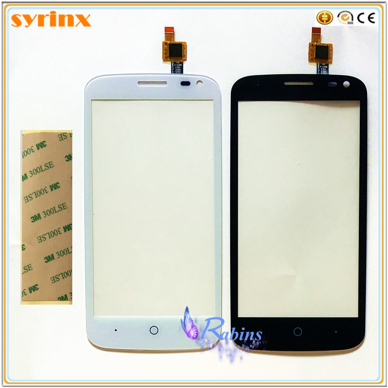 3m Tape 4.5 Inch Touch Sensor Panel Front Glass For ZTE Blade Q Lux / Qlux 3G 4G Touch Screen Digitizer Cellphone Touch