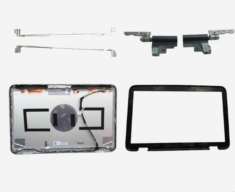 For Dell XPS15 XPS 15 L501X L502X LCD Back Cover/LCD Front Bezel/Hinge/Screen Bracket 52MKT 052MKT 0PCRKJ PCRKJ A Shell