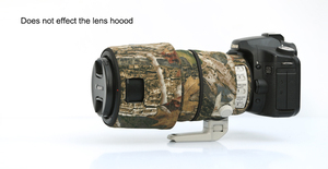 Image 5 - ROLANPRO Lens Camouflage Coat Rain Cover for Canon EF 100 400mm f4.5 5.6 L IS II USM lens Protective Sleeve Guns Case Outdoor