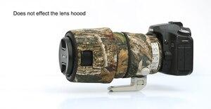 Image 5 - ROLANPRO レンズ迷彩コートキヤノン ef 100 〜 400 ミリメートル f4.5 5.6 L は II USM レンズ保護スリーブ銃ケース屋外