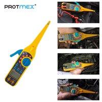 PROTMEX Multi function Auto Circuit Tester Multimeter Lamp Car Repair Automotive Electrical Multimeter 0V 380V Voltage