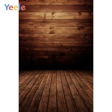 Yeele Brown Wooden Board Wall Flower Planks Portrait Photography Backgrounds Customized Photographic Backdrops for Photo Studio yeele rose flower simple wooden board texture planks goods show photography backgrounds photographic backdrops for photo studio
