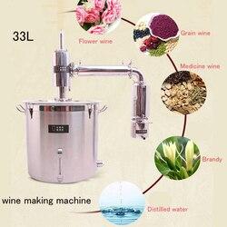 33L/71L Dispositivo di Fermentazione del Vino a Fini Commerciali Liquore Che Fa La Macchina di Vino Automatico Che Fa La Macchina di Vino Delle Famiglie A Vapore